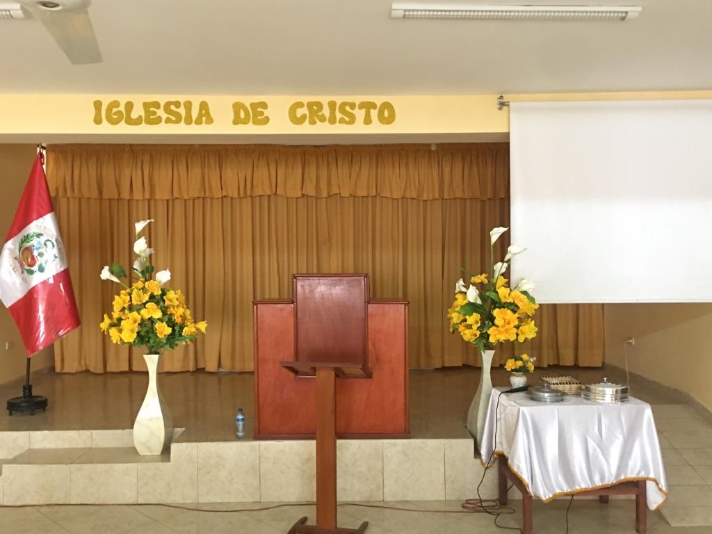 Ica Peru Church Building