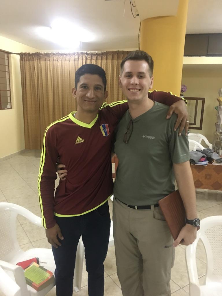 Bible study in Peru